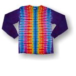Adult Long Sleeve T-Shirt - Rainbow Stripe