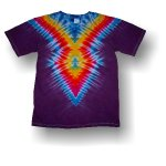 Adult Short Sleeve T-Shirt - Arrow One (Purple)