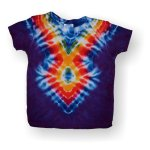 Infant Short Sleeve T-Shirt - Arrow One (Purple)