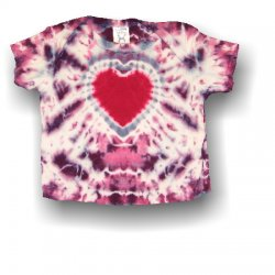 Infant Short Sleeve T-Shirt - Heart