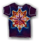 Infant Short Sleeve T-Shirt - Purple Mandala