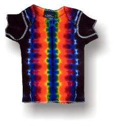 Infant Short Sleeve T-Shirt - Rainbow Stripe