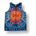 Men's Tank Top- Circle Crinkle