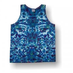 Men's Tank Top- Crinkle