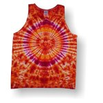 Men's Tank Top- Fire Circle