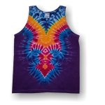 Men's Tank Top- Gothic V (Purple)