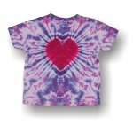 Toddler short sleeve t-shirt - heart