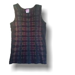 Girl's Tank Top - Dark Stripe