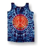 Women's Tank Top- Circle Crinkle