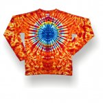 Youth longsleeve t-shirt - eclipse circle